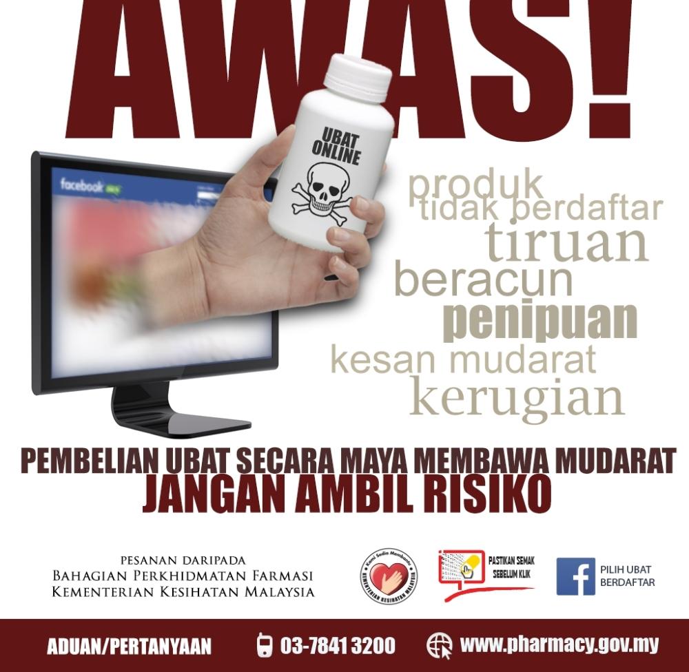 hati-hati ubat kurus online 3