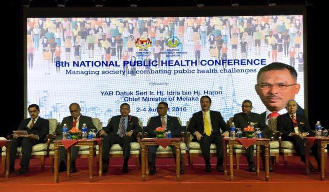 Conference August 4th Keynoted By >> Dg Of Health Keynote Address The 8th National Public Health