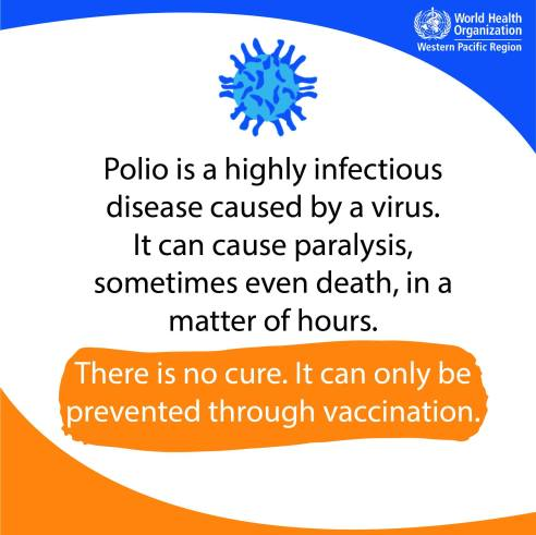 Polio paralysis