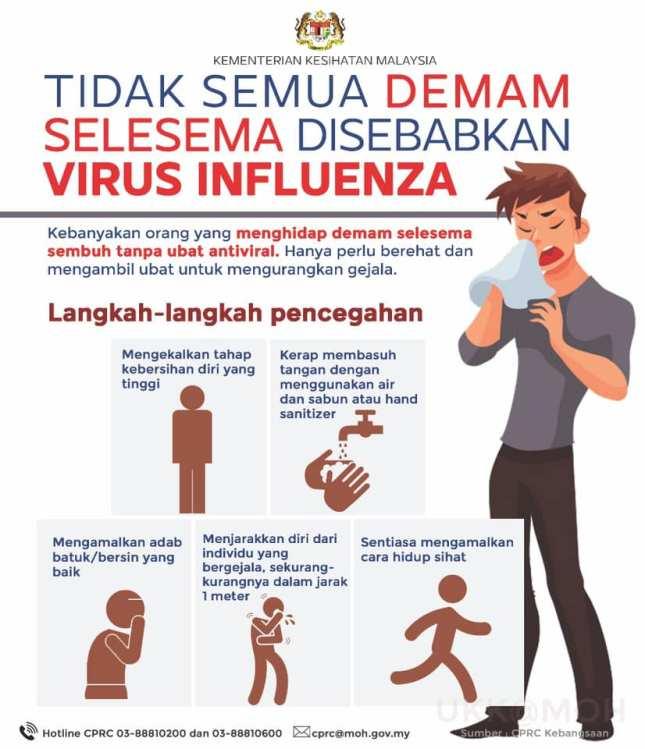 Tidak semua influenza