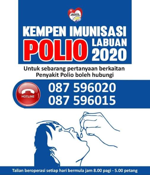 Kempen Imunisasi Polio WP Labuan 2